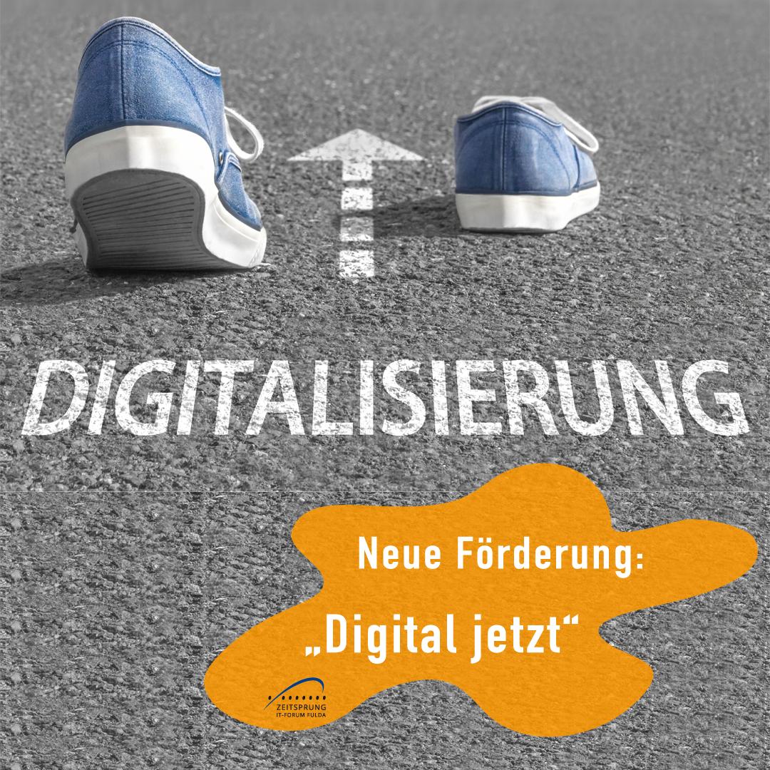 Neues Förderprogramm: Digital Jetzt!